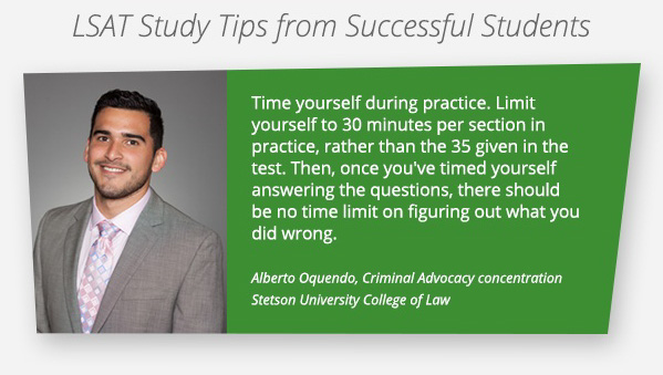 LSAT Tip 3: Time Limits are your training partner